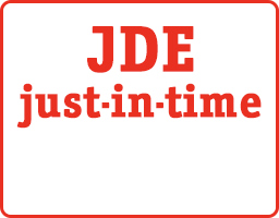 JDE Just-in-time